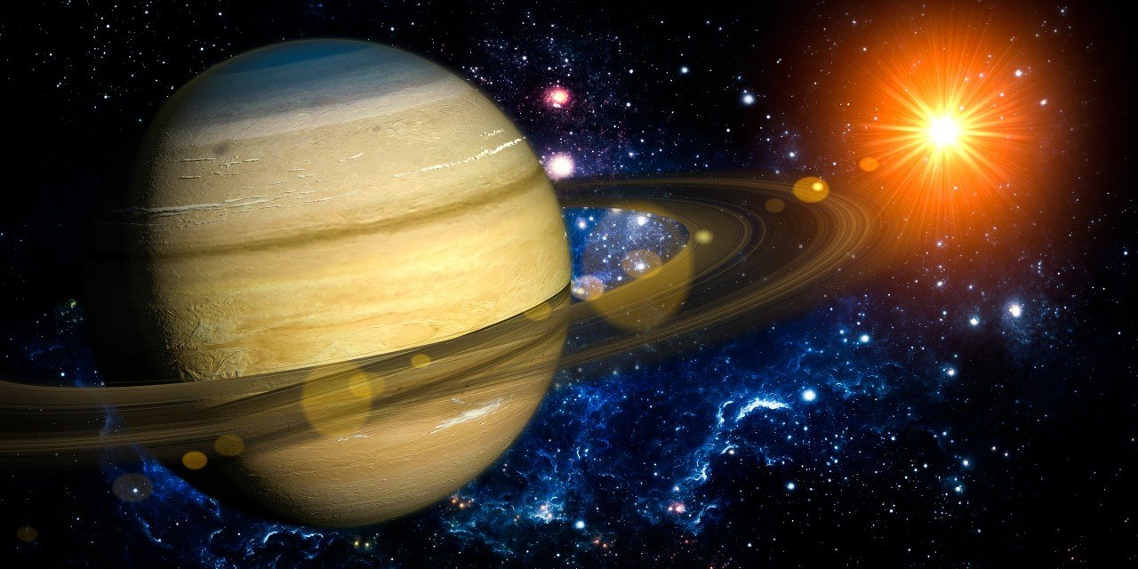 Saturn was our Former Sun and the God of Genesis