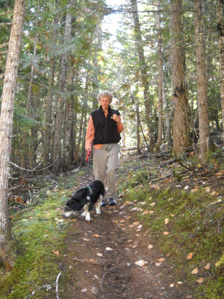 Bennett Ross hiking